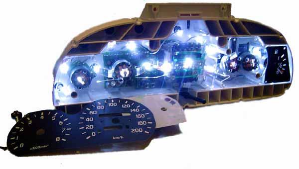 Светодиоды для панели приборов своими руками - Журнал авто