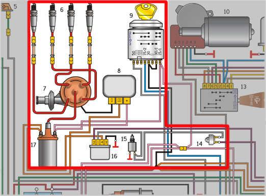 газ 31029 схема электропроводки